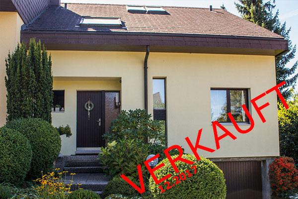 Sehr gepflegtes zusammengebautes Einfamilienhaus in Ipsach